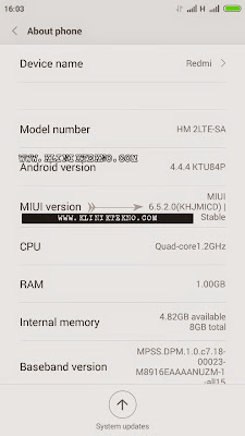 The easy way to update the manual Xiaomi Redmi 2 MIUI v6.5.2.0