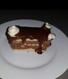 עוגת ביסקוויטים חלומית