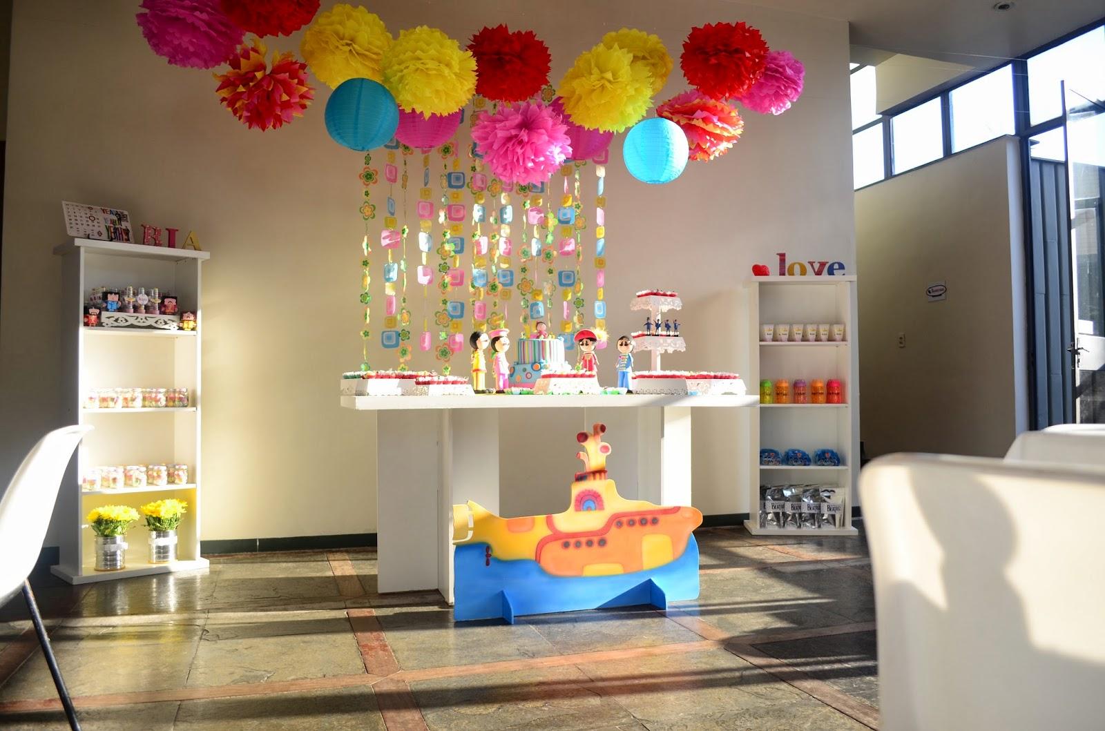 "decoracao festa infantil yellow submarine:Yellow submarine, yellow submarine"""