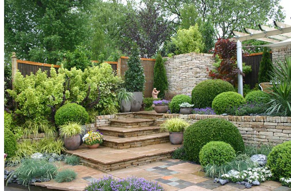 Ландшафтный дизайн мой сад