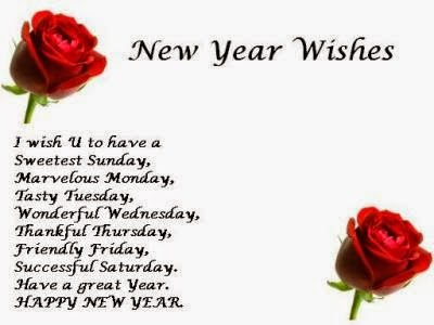 New Year Messages for Friends 2015