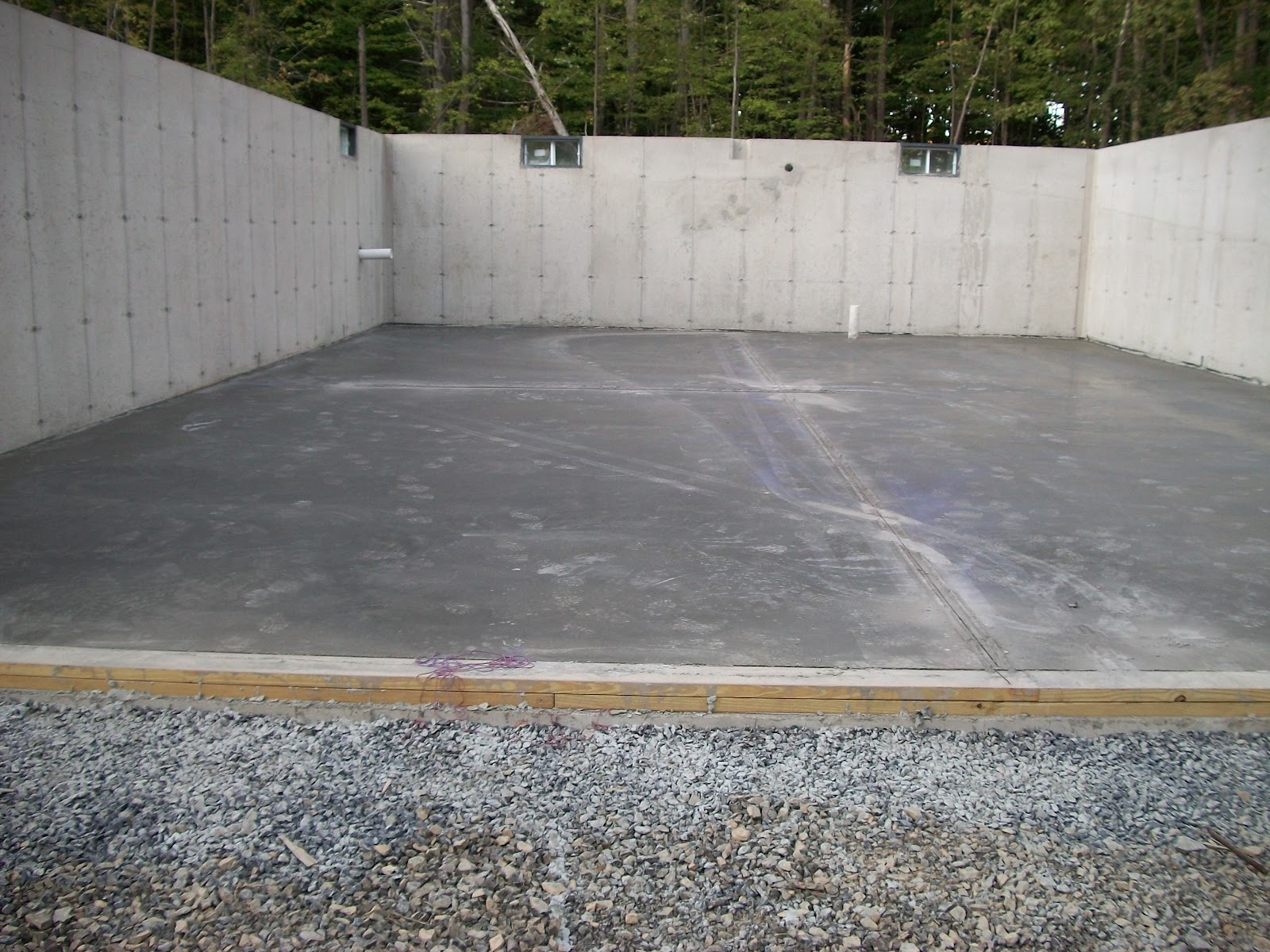 Girl Builds House Concrete Slab
