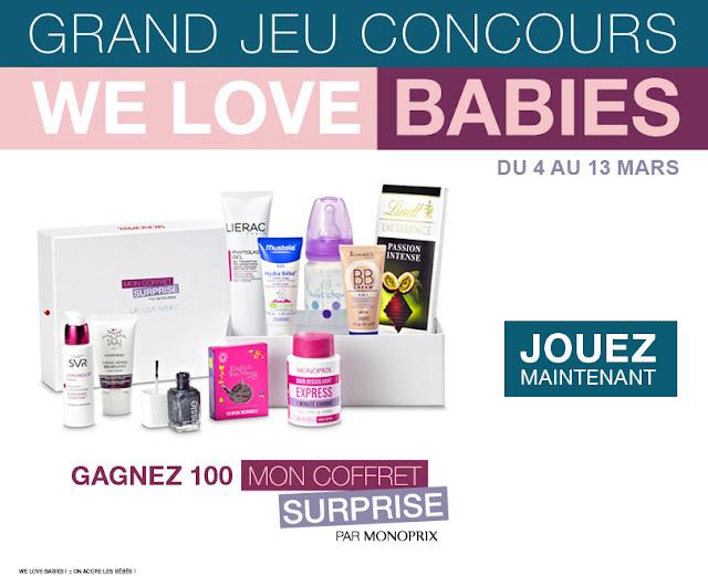 100 coffrets surprises Babies