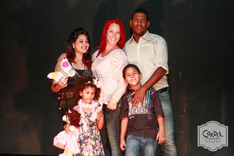 Eu, minha esposa Lucinete e filhos Thais, Isaac e Gabriella Victoria
