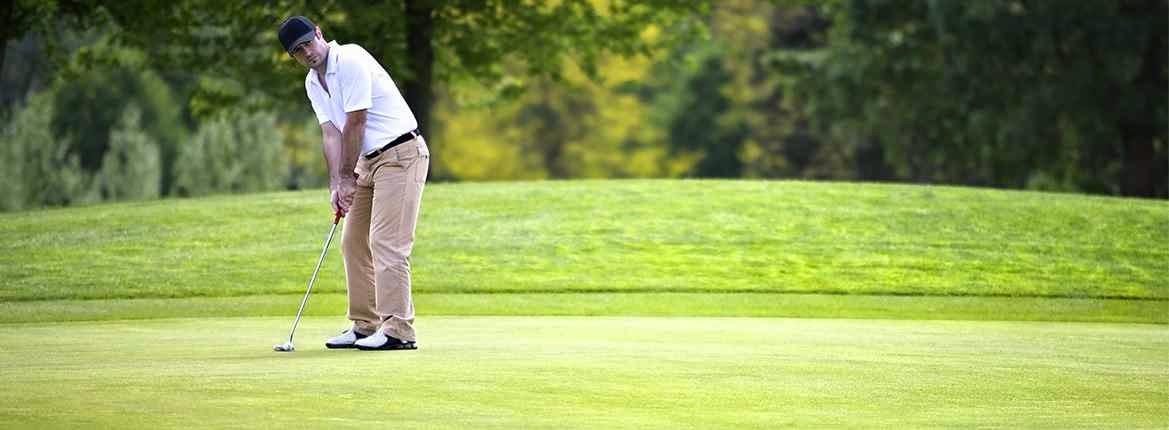 Golfing in Belfast
