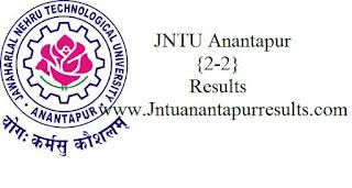 Jntua 2-2 Results
