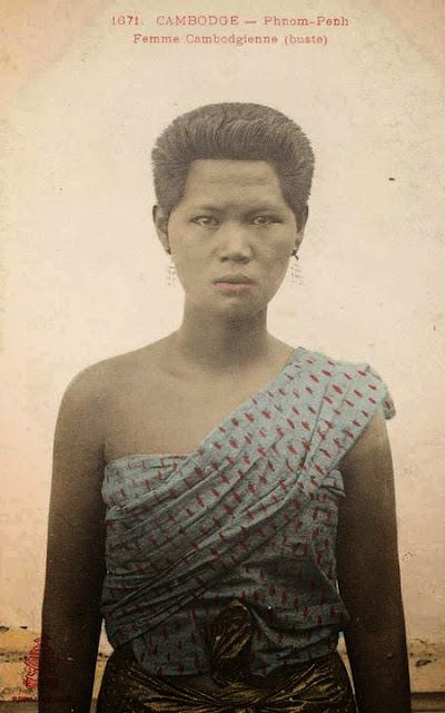 Divers clichés anciens du Cambodge