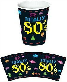 Totally 80s paper cups
