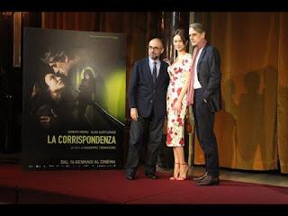 GIUSEPPE TORNATORE AL CINEMA APOLLO PARLA DEL SUO ULTIMO FILM LA CORRISPONDENZA