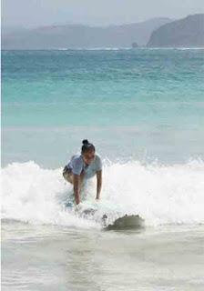 pantai selong belanak, surga tersembunyi di Lombok