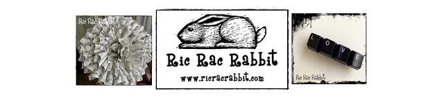 Ric Rac Rabbit -   Repurpose, Redesign, Redecorate