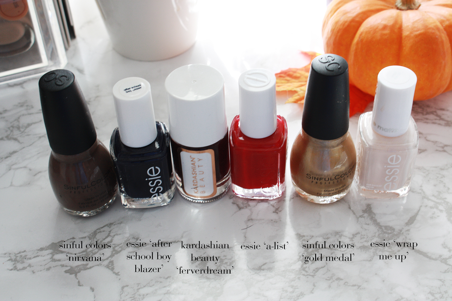 of life and style: Fall Nail Color Favorites