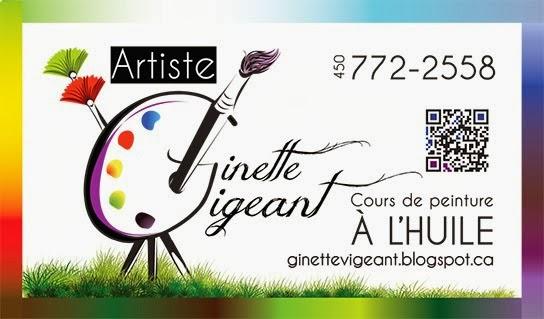 Ginette Vigeant, Artiste-Peintre