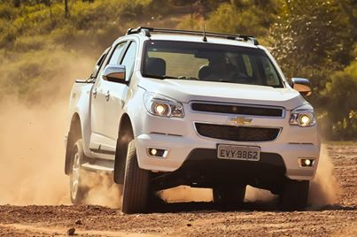 novo Chevrolet S10 2014 frente 2