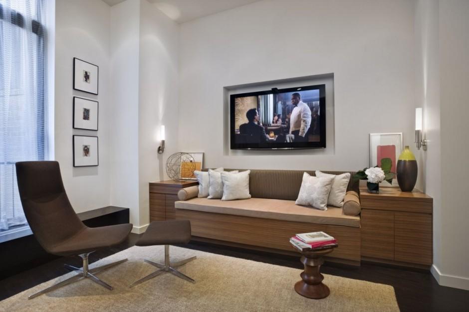 Renovacion de loft en nueva york interiores por paulina for Small nyc living room ideas