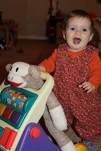 Norah 8 months!