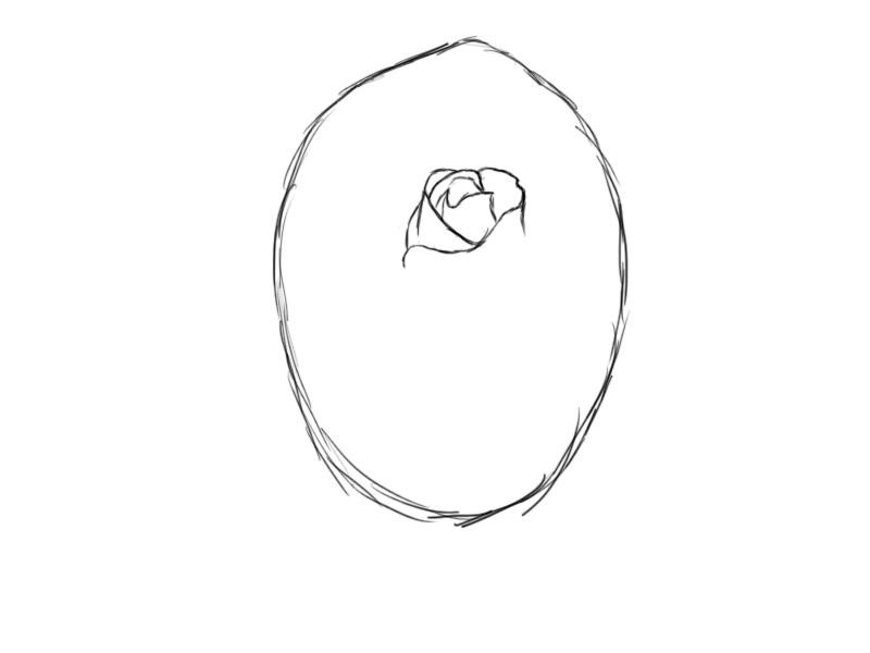 How Do You Draw a Rose