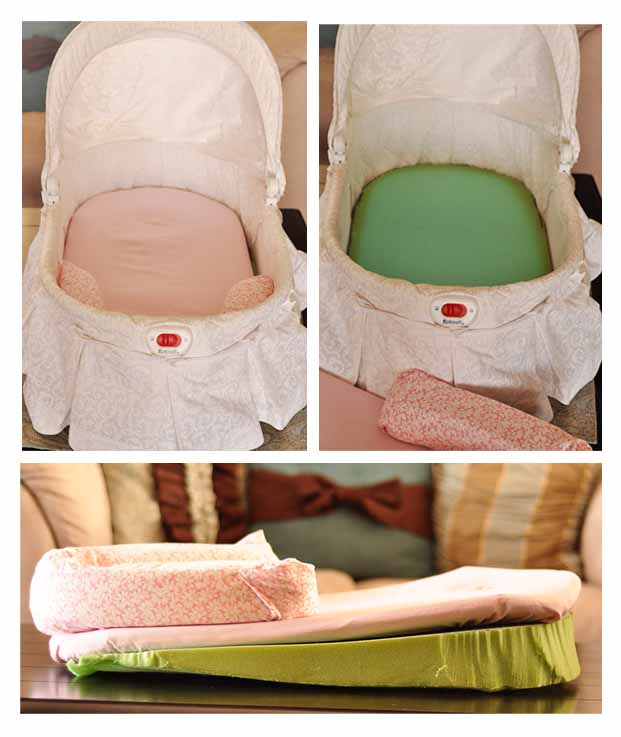 inclining the bassinet