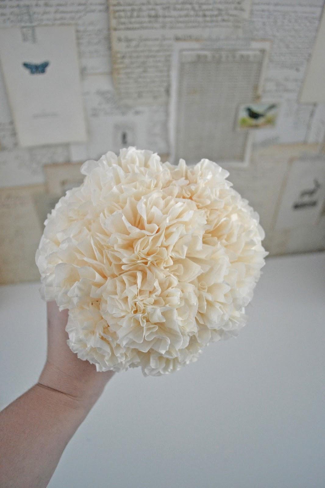 Liz Mathews Tissue Paper Flower Video Tutorial