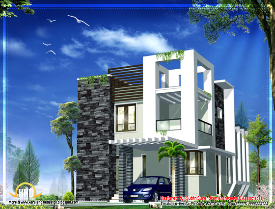 Cute modern home design - 1230 Sq. Ft.