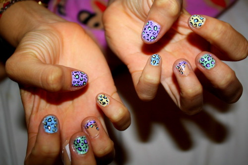 New Tattoo Butterfly Cute And Fantastic Nail Art Designs