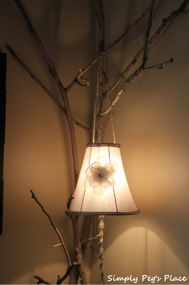 The Lamp Serves Two Purposes One To Give Light That Corner Of Room And Corners Need Trim People Who Dry Walled Did A Very