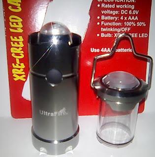 Lampu tenda UltraFire ZF-60147 Cree