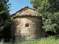 L'absis de la capella de Sant Marçal de Puig-reig
