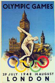 Vintage video from the 1948 Olympics