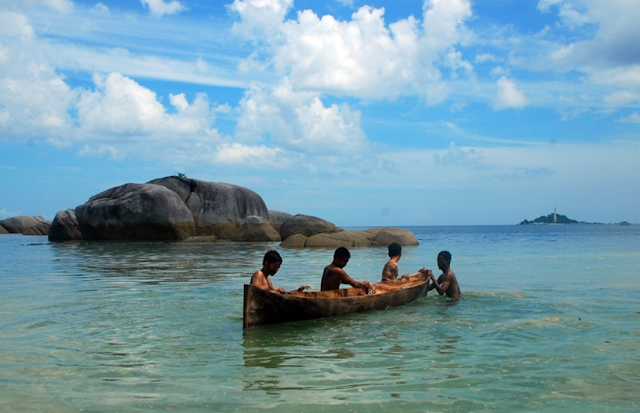 BELITUNG ISLAND,INDONESIA