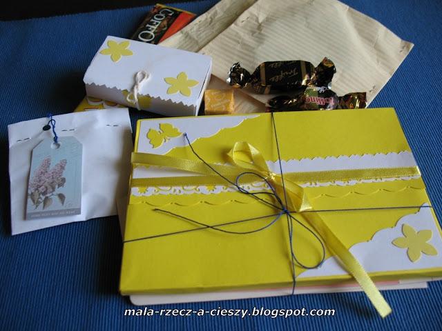 Też lubię dawać prezenty, czyli pierwsza wymianka z Anią :)