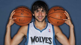 Ricky Rubio Wolves NBA