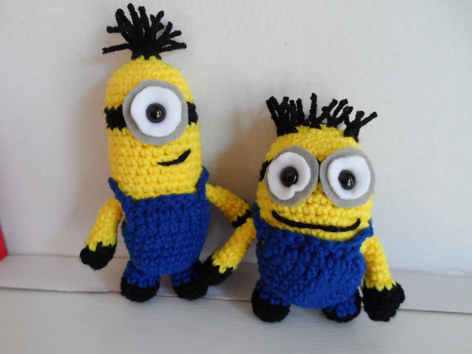 Free Crochet Pattern For Minion Eyes : Kristens Crochet: Minions Revisited