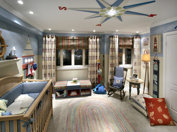 Lovelace Files Nautical Themed Toddler Room
