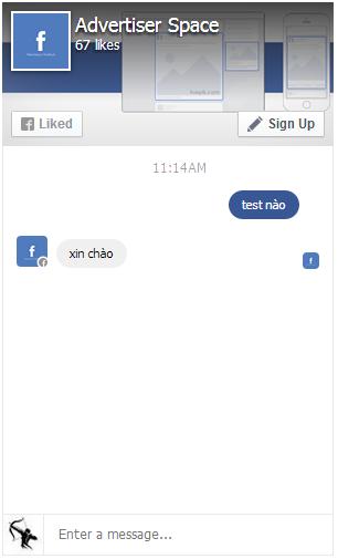 Cách tạo tính năng chat (chat box) cho page plugin khi chèn vào web
