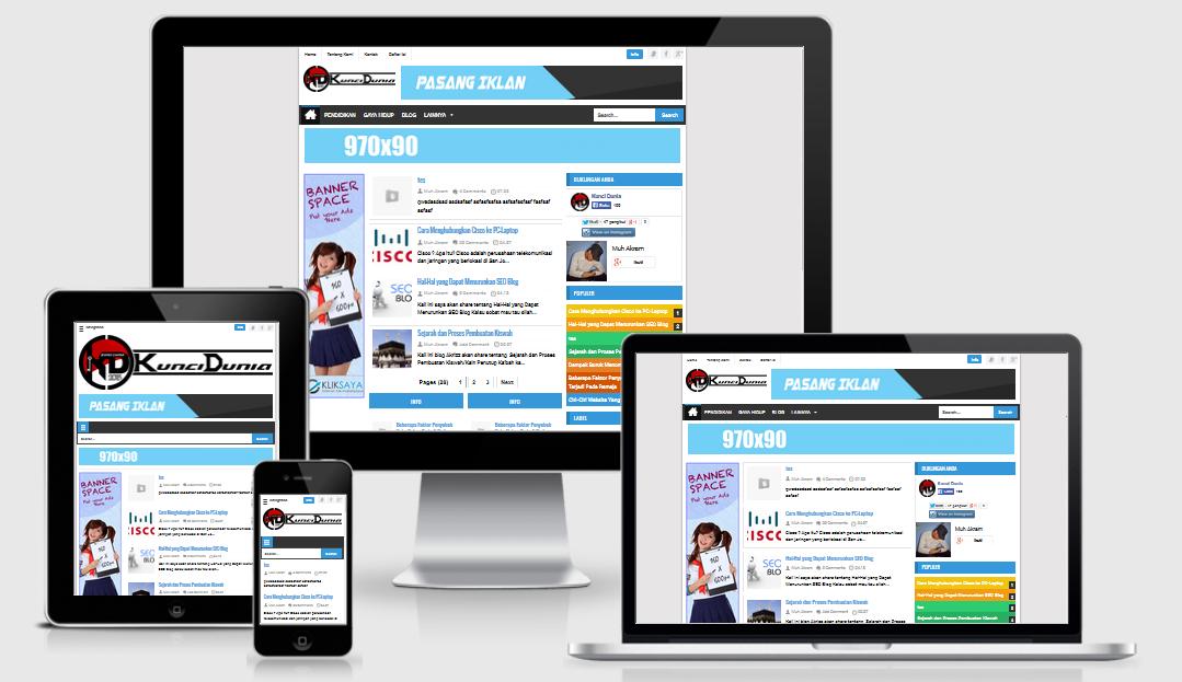 SEOSimple Responsive Blogger Template V3