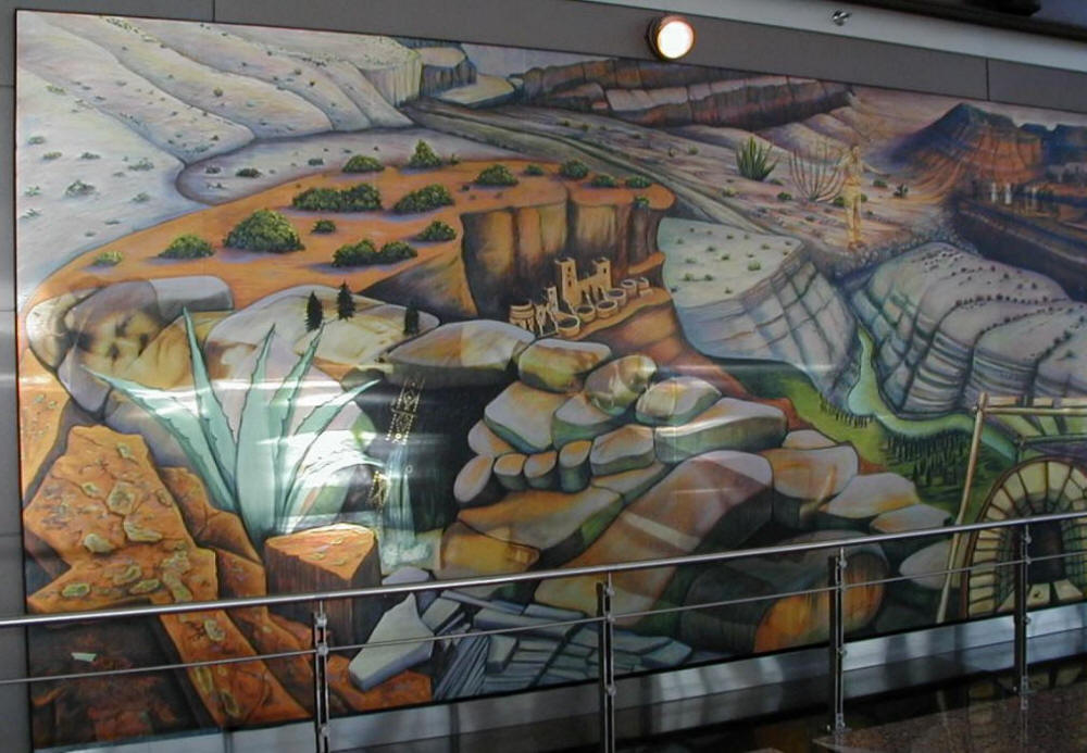 Denver airport conspiracy real or fiction for Denver international airport mural