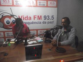 Rádio Vida FM 93,5  Todos os Dias Audiência Total.