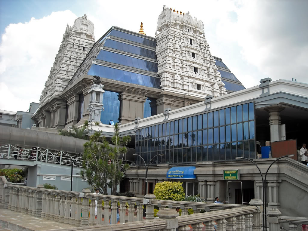 ISKCON Temple Bangalore Karnataka Popular Temples Of India