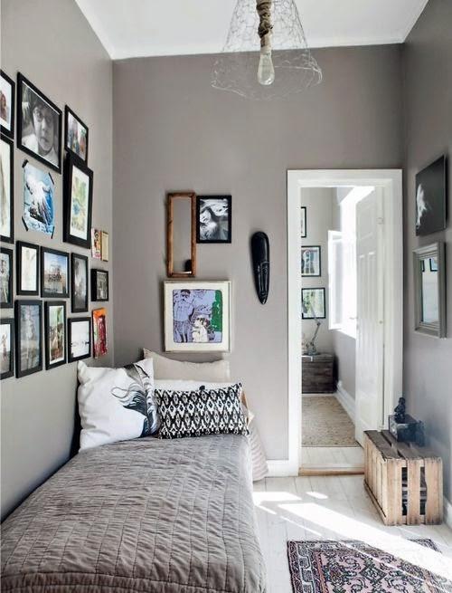 21 fotos de decoraci n de dormitorios peque os modernos 2018 - Decoracion dormitorios juveniles pintura ...