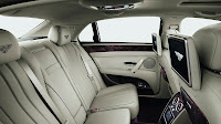 The All-New Bentley Flying Spur back interior