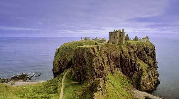 Hermosa ciudad para aprender inglés en Escocia