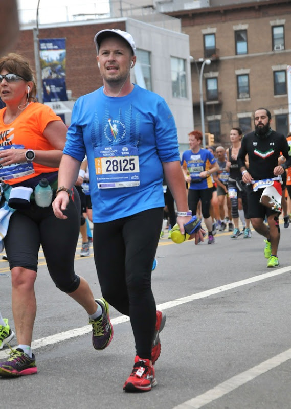 Walk break 2015 New York Marathon