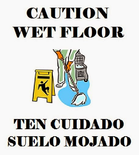 picture regarding Printable Wet Paint Sign named Lifetime within ENGSPANOL: Free of charge PRINTABLE Bilingual Indications For In excess of
