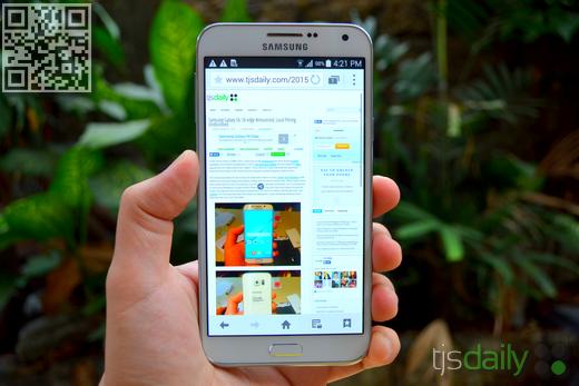 Samsung Galaxy E7 Review Display