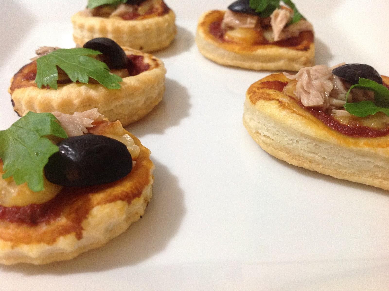 recette mini pizza et petits paniers de p 226 te feuillet 233 e mes recettes r 233 ussies