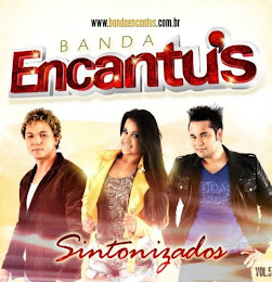 Banda Encantu´s divulga capa do novo CD