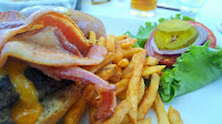 bacon burger belize cayo