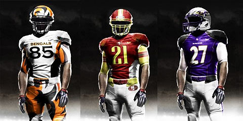 f41dca6aecd NFL outfits redesigned by Nike