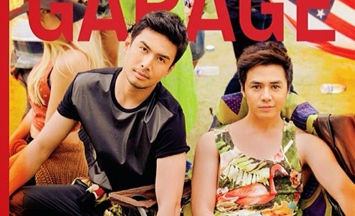Sam Concepcion and Christian Bautista cover Garage Magazine
